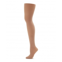 Capezio Ultra Soft Self gebreide band Transition Tights 1916 - licht suntan